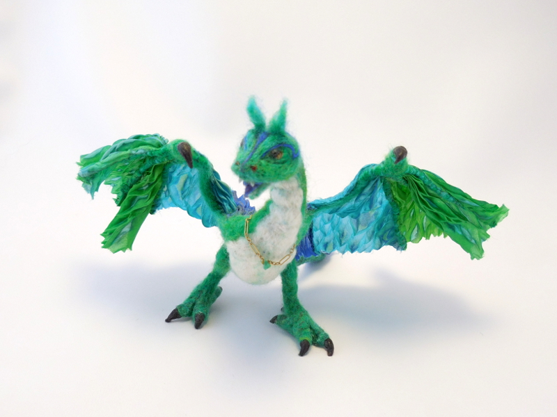 Green Wyvern &#150 With Bling